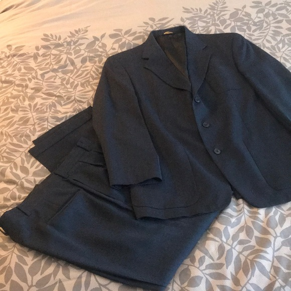 Austin Reed Suits Blazers Dillards Austin Reed 3 Button Charcoal Suit 42r Poshmark